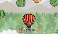Lot balonem z przeszkodami