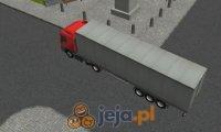 Semi Driver 3D: Tir z przyczepą