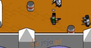 Kwadratowa strzelanka - pokoje