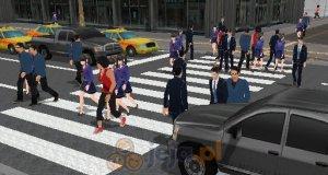 Zwariowane przejście dla pieszych