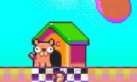 Parówkowy pies w mięsnej krainie
