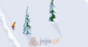 Snowboardowa jazda