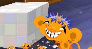 Szczęśliwa małpka: Balony