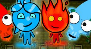Angry Ice Girl & Fire Boy