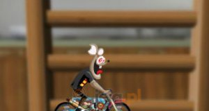 Mysz na motorze