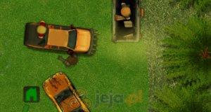 Pickup ratuje przed zombie