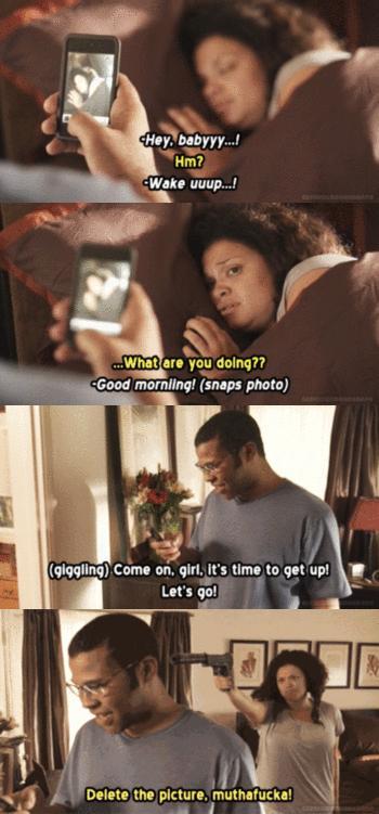 Nie zadzieraj rano z kobietą