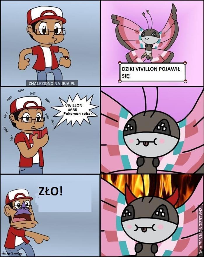Piekielny pokemon