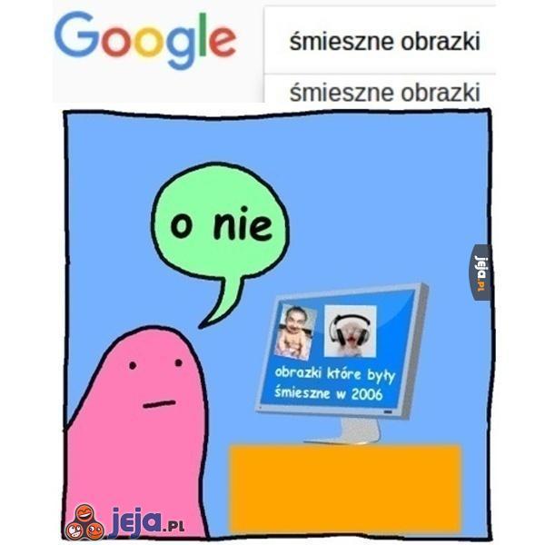 Śmieszne obrazki z Google