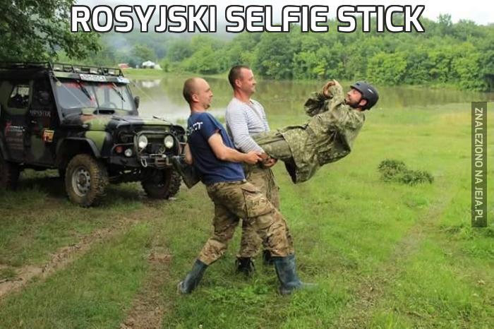 Rosyjski selfie stick