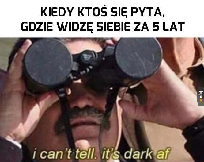 Ciemność, widzę ciemność