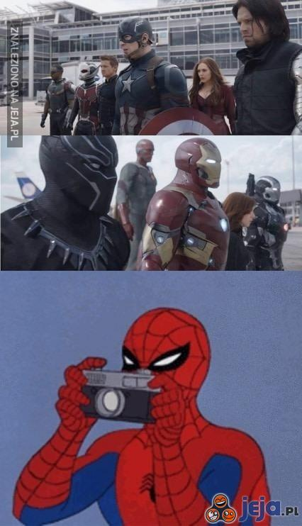 Teraz wiecie gdzie był Spiderman?