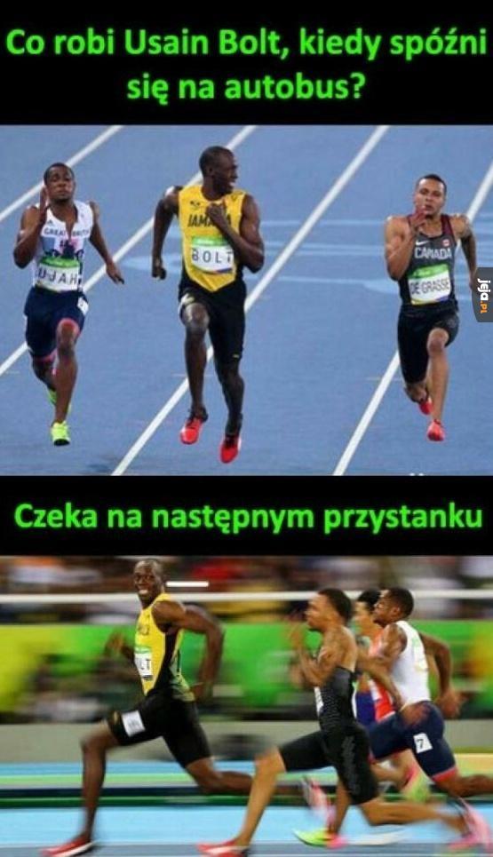 Zagadka dla fanów Bolta