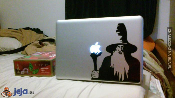 Gandalf i magiczne jabłko