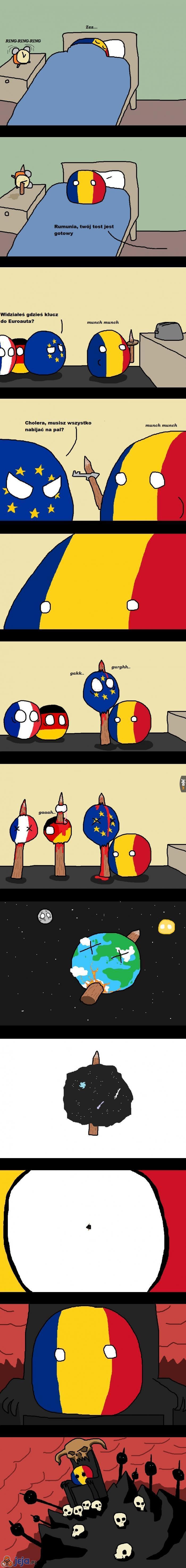 Jak Rumunia radzi sobie z problemami