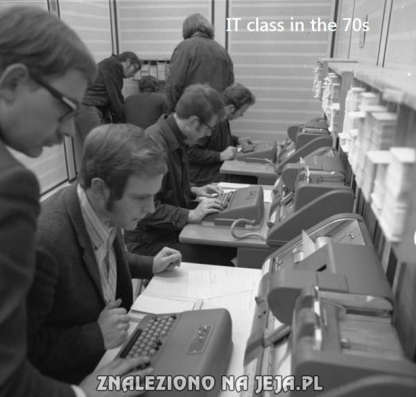 Informatyka w latach 70'