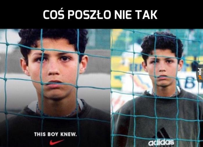 Młody Ronaldo