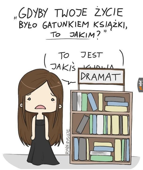 Gdyby życie było gatunkiem książki