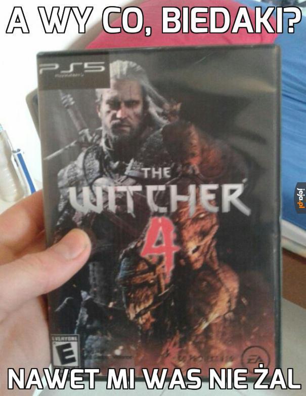 Wiedźmin na PS5