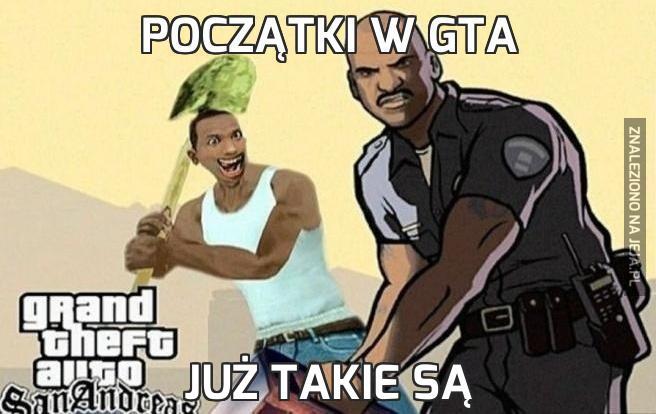 Początki w GTA