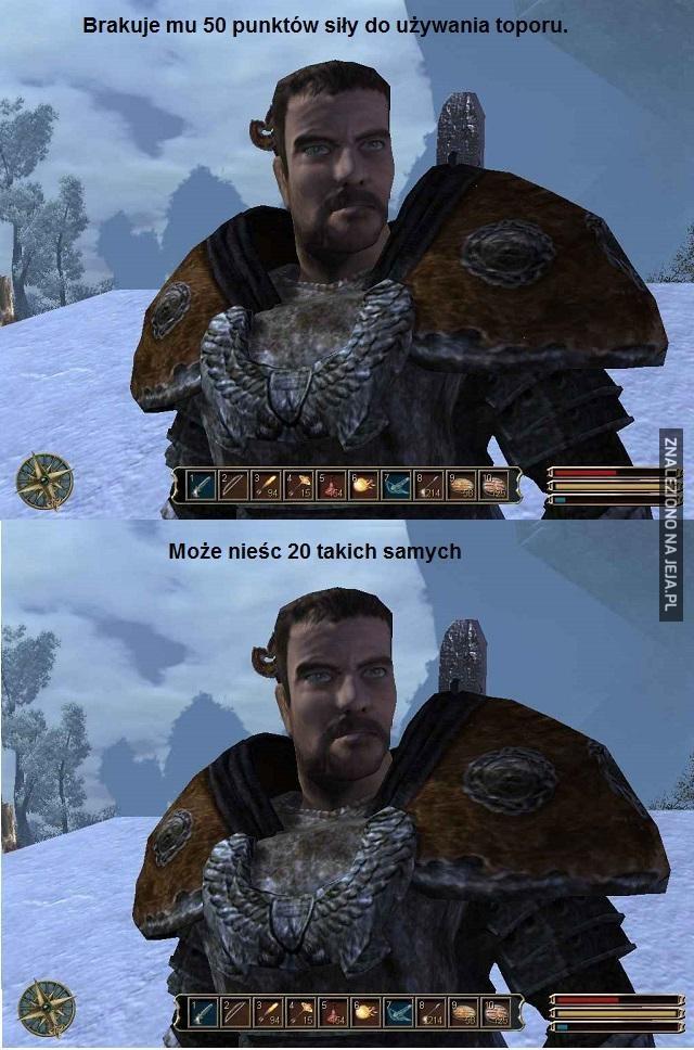 Logika gry Gothic