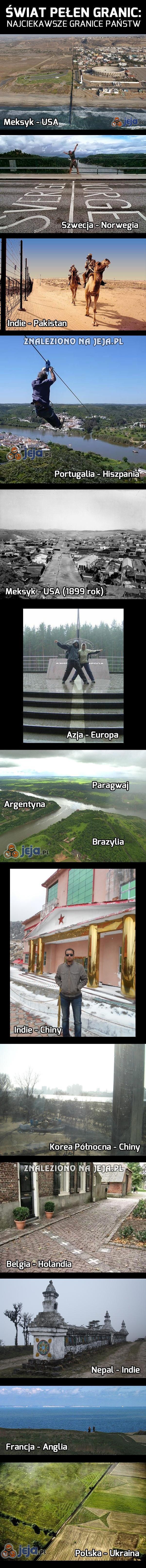 Świat pełen granic