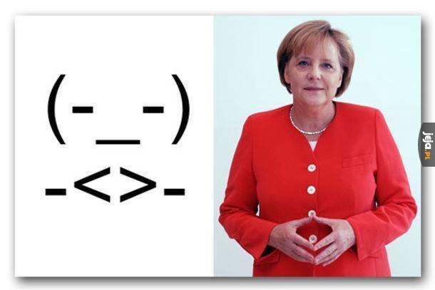Emotka Merkel