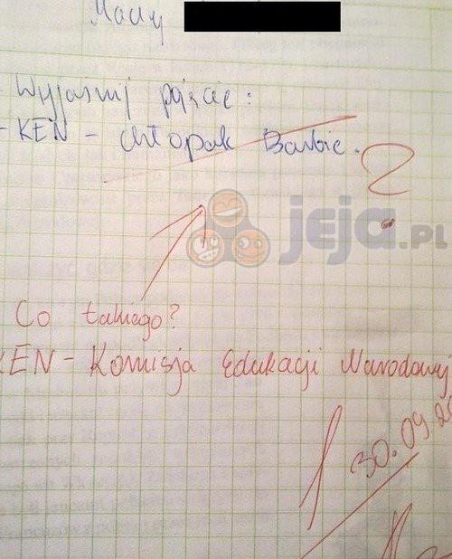 Wyjaśnij pojęcie KEN...