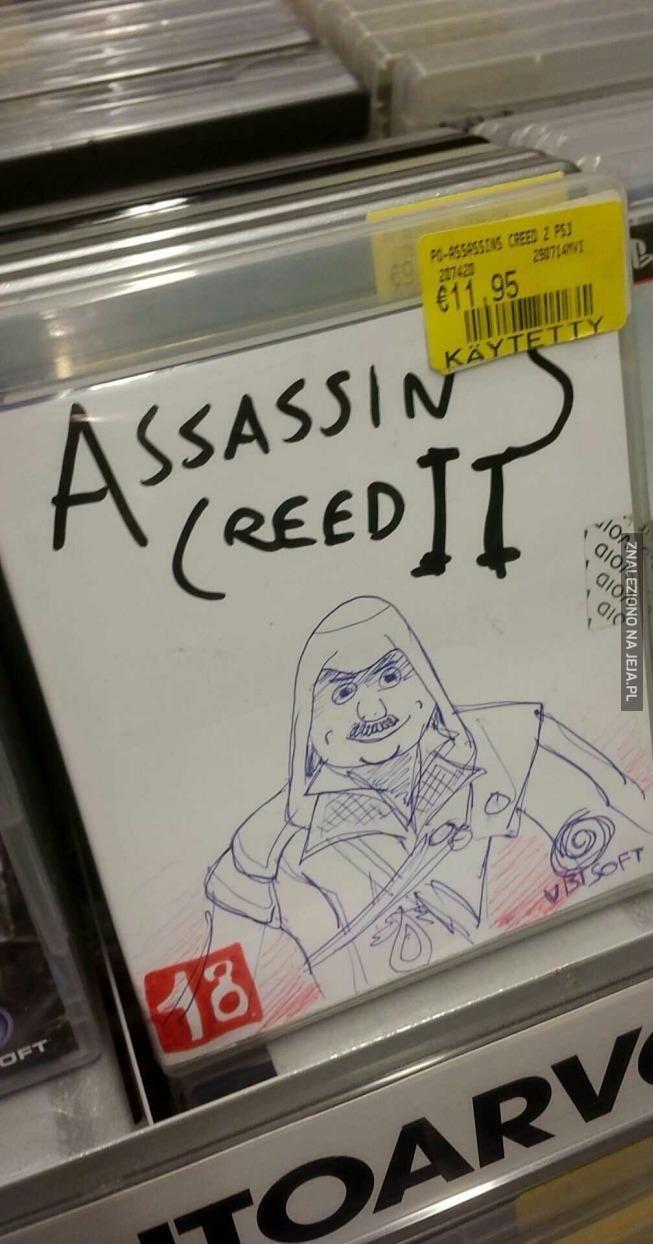 Ezio, co się stało się?