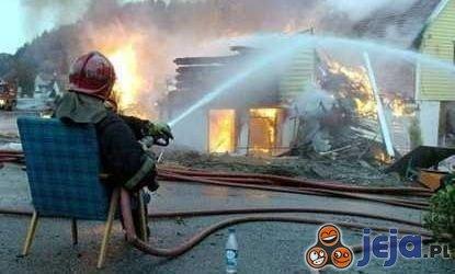 Leniwy strażak