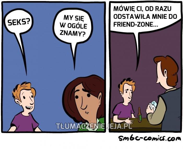 Jak dostać się do friendzone?