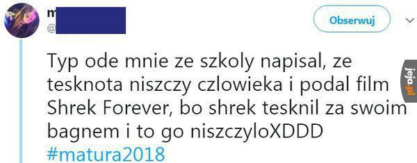 Matura 2018