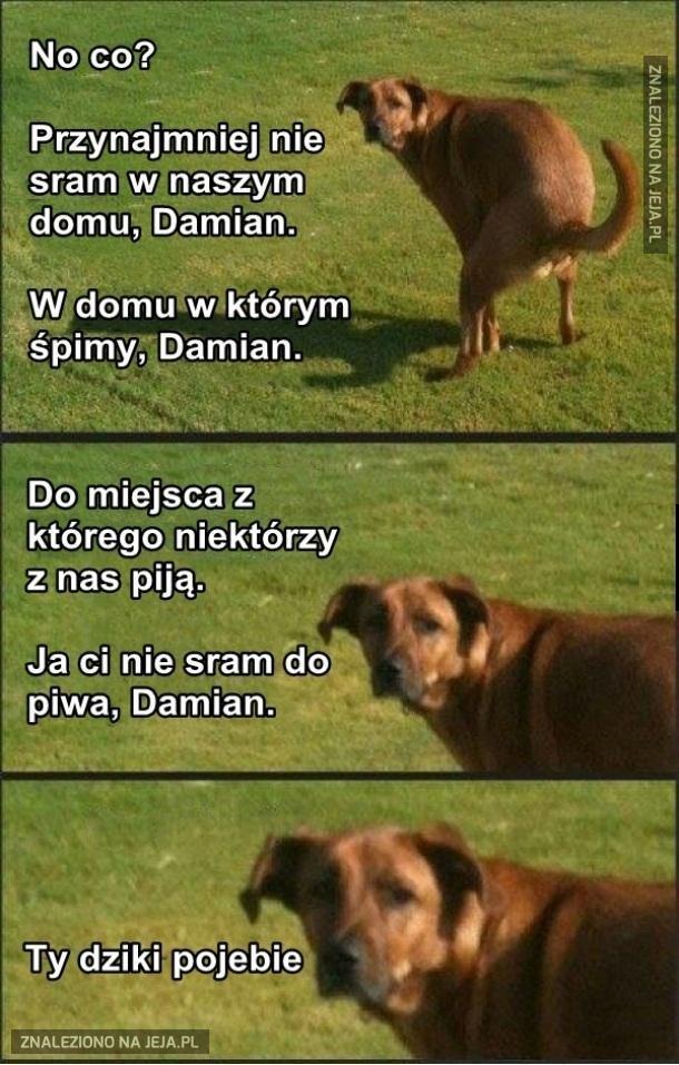 Damian, proszę