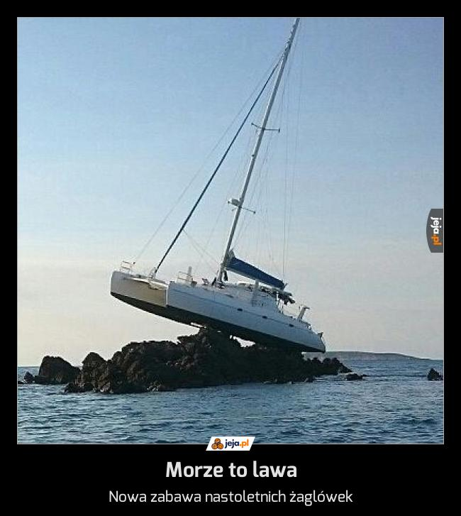 Morze to lawa