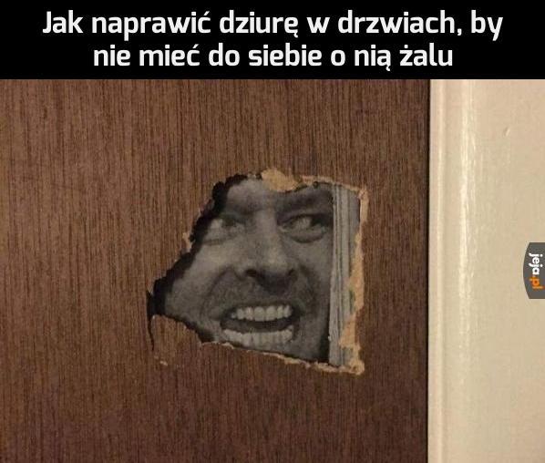 Naprawa drzwi