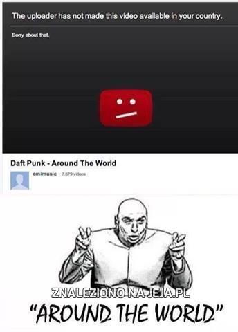Ach, ten YouTube...