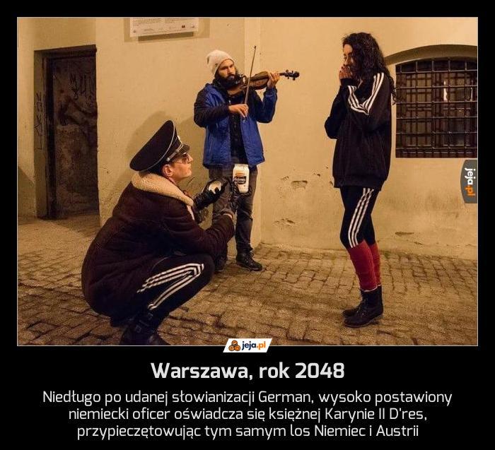 Warszawa, rok 2048