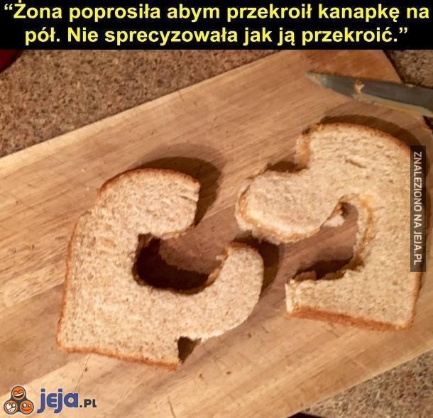 Pół kanapki
