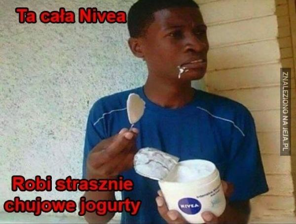 Ta cała Nivea...
