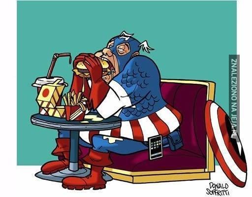 Kapitan Ameryka - historia prawdziwa