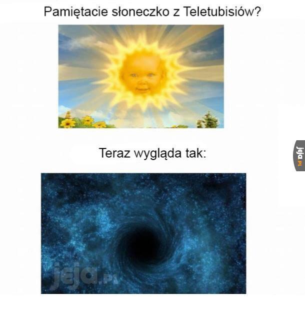 Słoneczko kiedyś i dziś