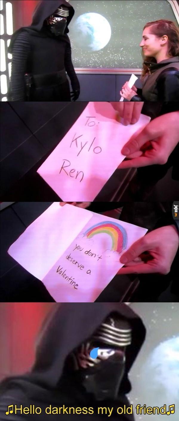 Kartka dla Kylo Rena