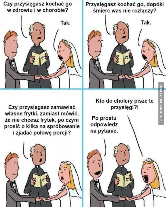 Współczesna przysięga małżeńska