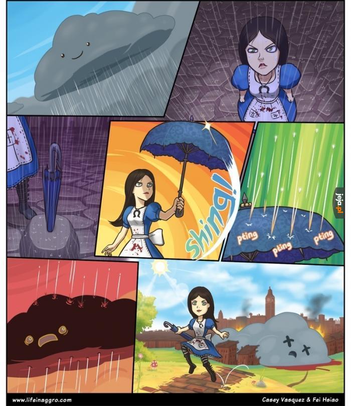 Jak powinny działać parasole