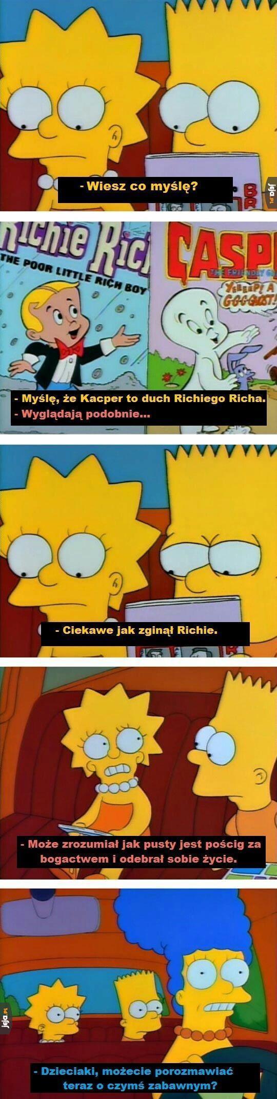 Głębia w Simpsonach