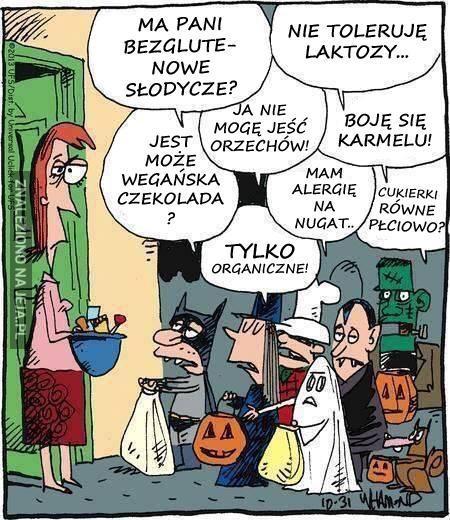 Dziś nawet Halloween jest skomplikowane