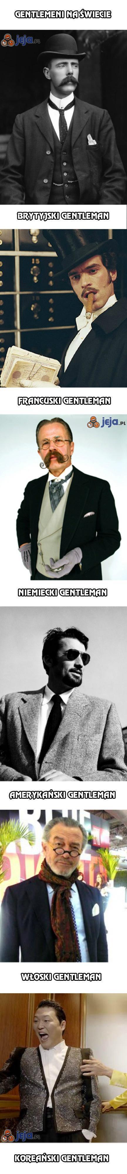 Gentlemeni na świecie