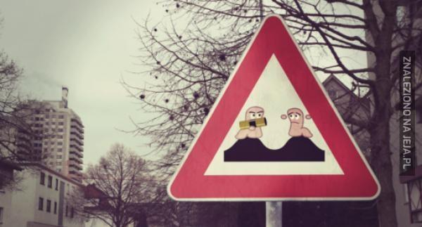 Wormsy żyją w znakach drogowych!