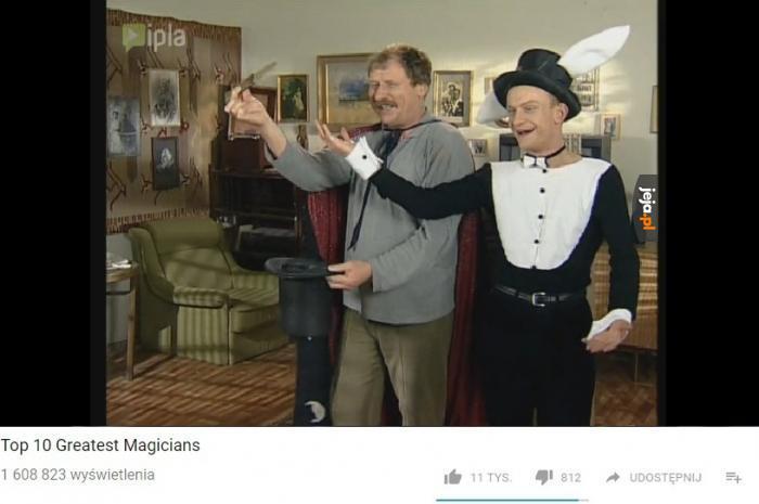 Top 10 największych magików
