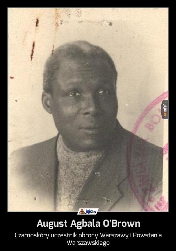 August Agbala O'Brown